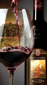 Castelllo Banfi's 2010 Brunello di Montalcino is universally received as the best in a decade with scores of up to 97 by wine critics. Photo courtesy Banfi Winery
