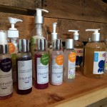 Organic beauty products made from grape by-products at Quinta Monasterio Winery have their own display corner in the tasting room. Included are Viniphera exfoliates, soap, moisturizers, scrubs and lotions.