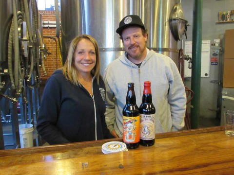 Strong ales on tap at Pizza Port event