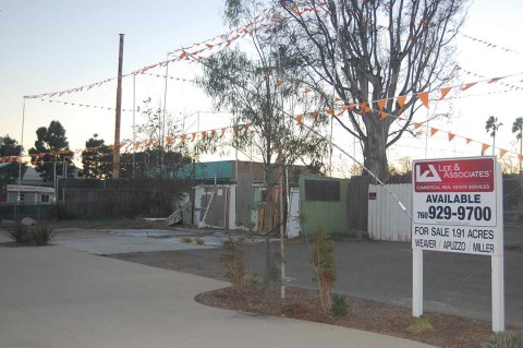 Site along Coast Highway 101 in Solana Beach up for sale