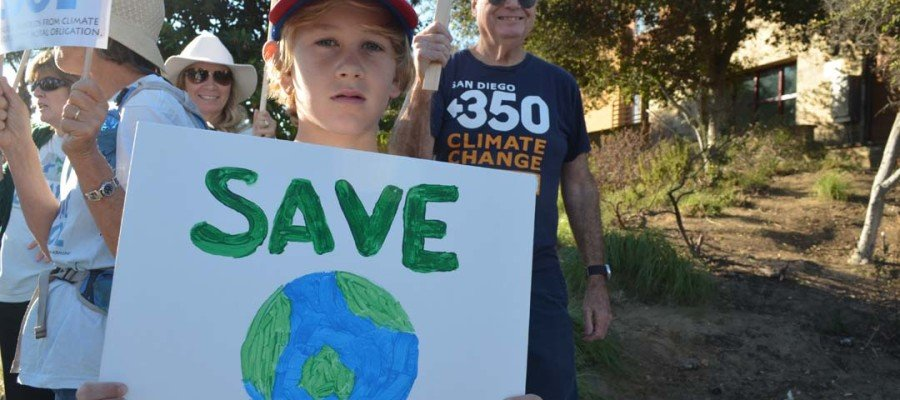 Groups rally in support of Paris climate talks