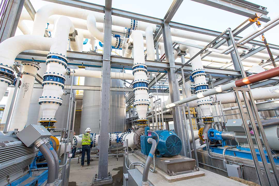 Final testing phase underway for desal plant