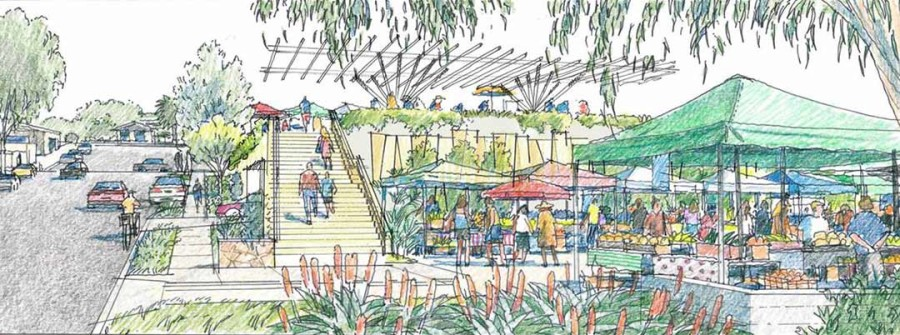Neighbors weigh in on civic center design