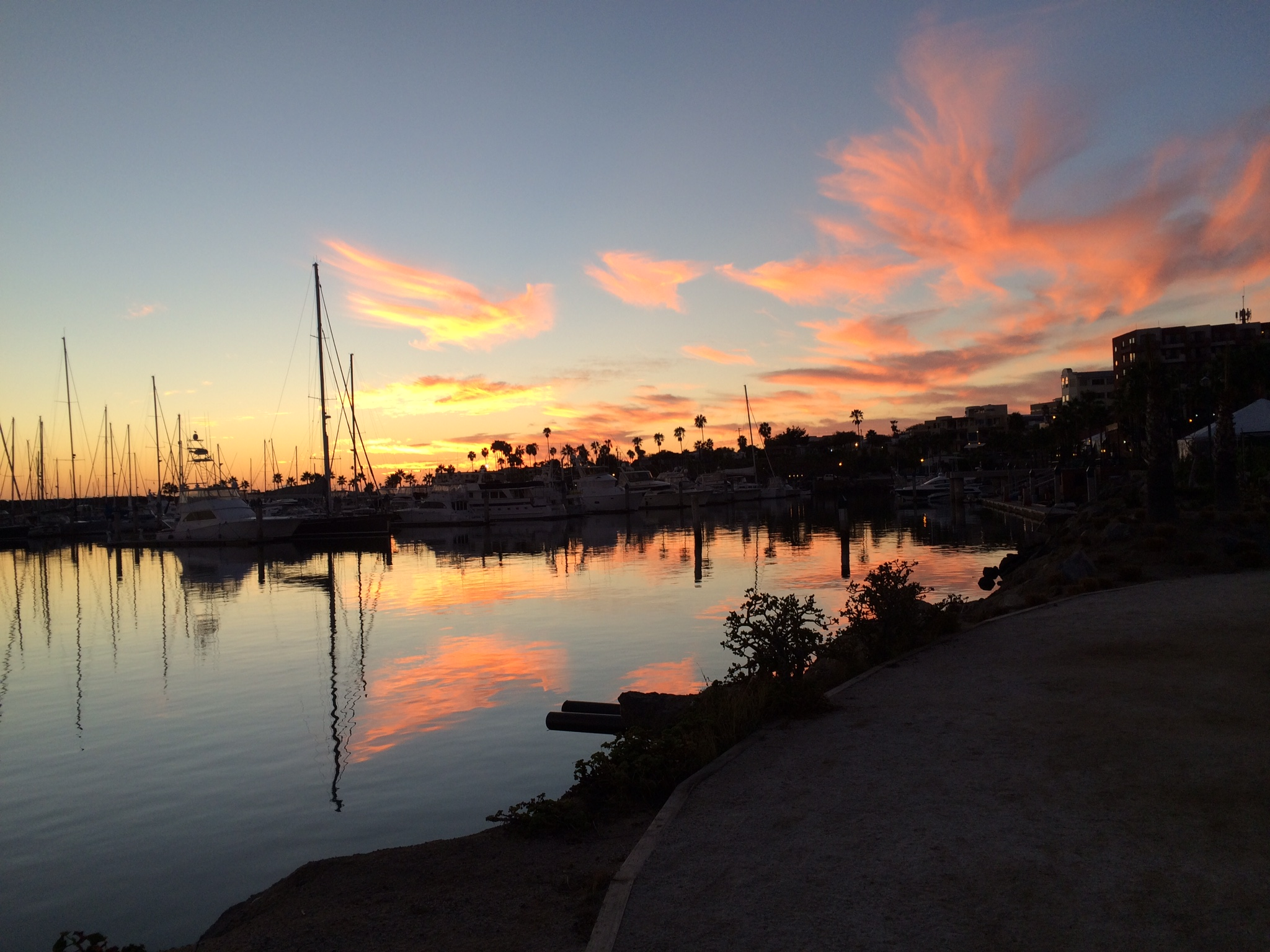 A view of the sunset from Ensenada is a perk for visitors who stay at the Hotel Coral, just north of the town, about 60 miles south of San Diego. Photo by E'louise Ondash