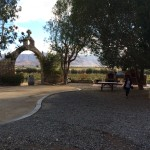 A shaded courtyard welcomes visitors to Quinta Monasterio Winery near Ensenada. The acreage produced grapes for years for other area wineries, but in 2006, owner Reynaldo Rodriquez Jr. and his father Reynaldo Sr. decided to produce their own label.