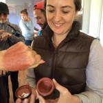 Alejandra Correa, wife of winery owner Reynaldo Rodriquez Jr., has designed a line of body products made from post-crush residue. Here she explains the benefits of the products which are high in antioxidants.