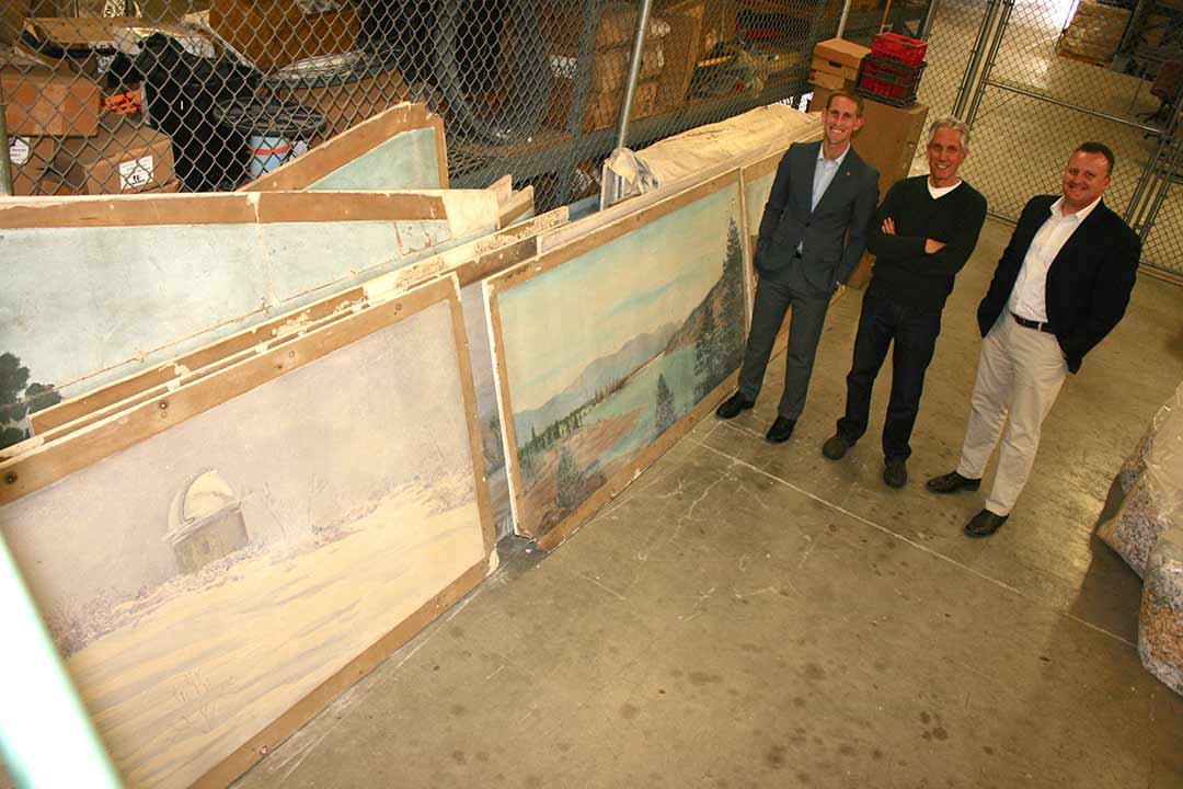 O'side looks for a home for 21 historic paintings