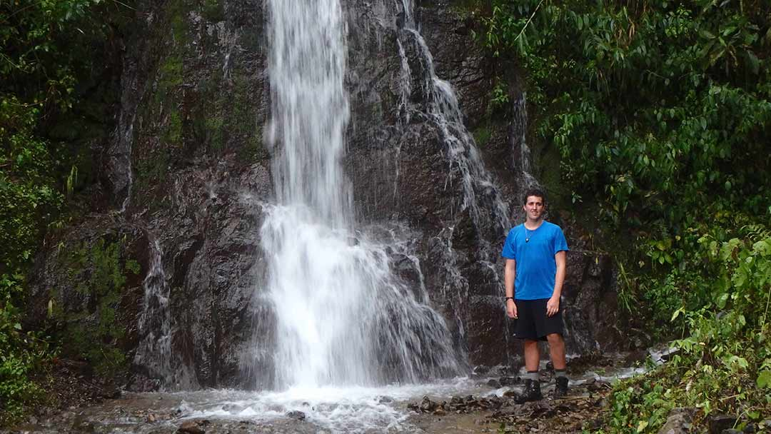 San Marcos student hikes across Costa Rica