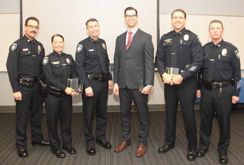 CPD bestows awards on officers, one named in federal lawsuit