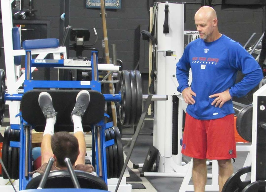 Former NFL kicker Carney opens gym to public
