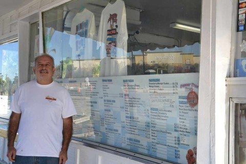 Vista ice cream shop owner served a high honor