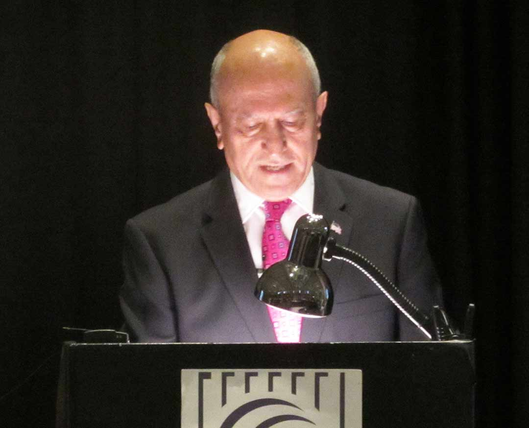 Abed touts city's economic health in annual address