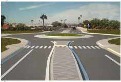 The Traffic and Parking Advisory Committee votes to recommend the construction of a roundabout at the intersection of Jimmy Durante Boulevard and San Dieguito Drive.  Courtesy rendering