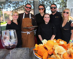 Flavorful small bites from the best restaurants are paired with over 75 wineries at Vin Diego in San Diego. Photo courtesy Vin Diego