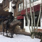 Numerous large bronze sculptures and other public art with Western themes can be found throughout Vail, Colo. The town has a special board that oversees the purchase and installation of both permanent and temporary works.