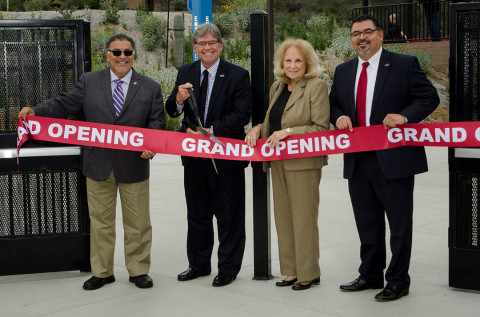 Palomar College celebrates new ball field