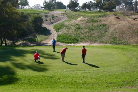 Goat Hill golf course celebrates reopening