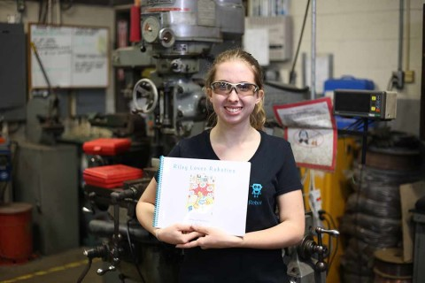 High school junior publishes book to get girls interested in STEAM