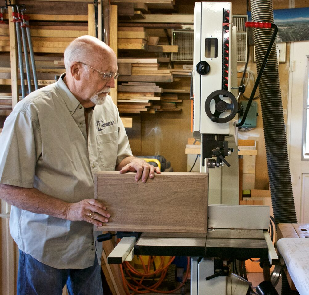 Local woodworker builds fine, functional furniture