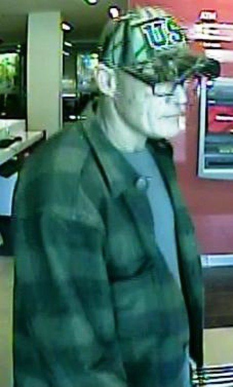 FBI searching for suspected bank robber