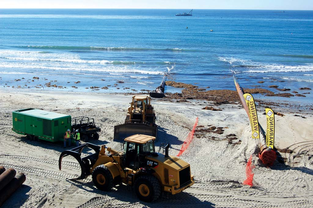 City accepts grant for sand replenishment