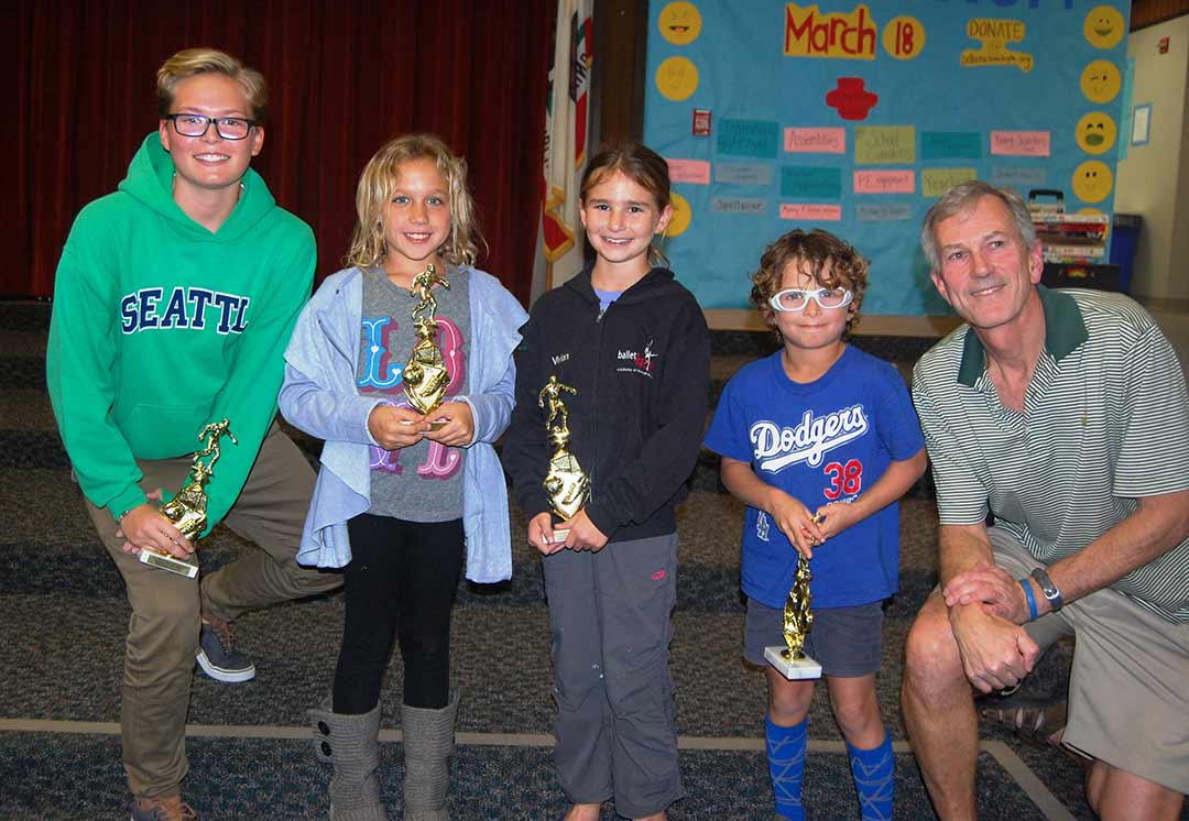 Soccer club awards players; president honored