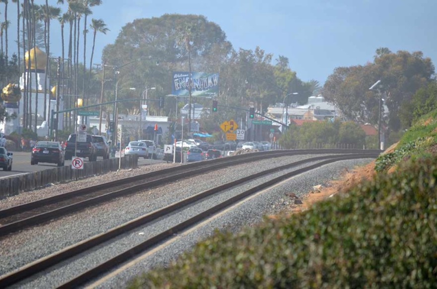 The San Diego Association of Governments and the California Coastal Commission are expressing concern with the recent decision by the Encinitas City Council to withdraw support of the current alignment of the Cardiff Rail Trail. File photo