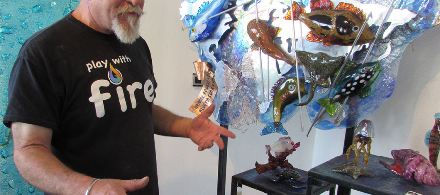Energy, connections help to guide artist's creations