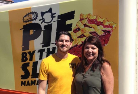 San Marcos restaurant unveils pie delivery with retro food truck