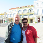 Jim and Margaret Janis of Carlsbad traveled to Cuba in late December/early January. Their 14-day trip took them to Old Havana, designated a World Heritage Site, where this photo was taken. After the Revolution in the mid-'50s, homes and buildings were given to citizens who hadn't fled, but with no money and materials (due to the embargo), most buildings are crumbling. There is an effort using a confusing combination of private and government money to rebuild the historic structures.