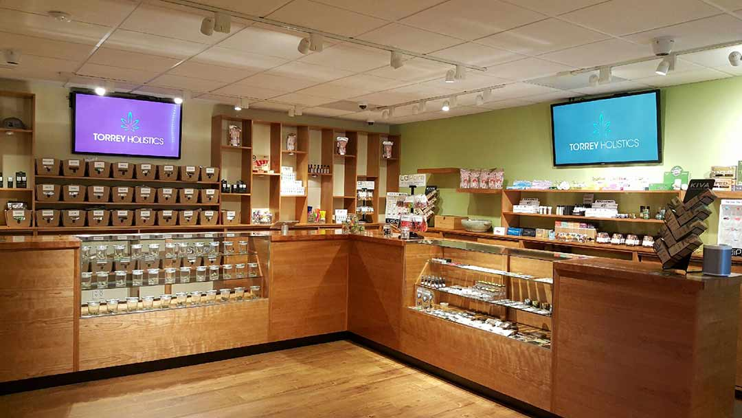 Torrey Holistics offers patients a sophisticated dispensary option