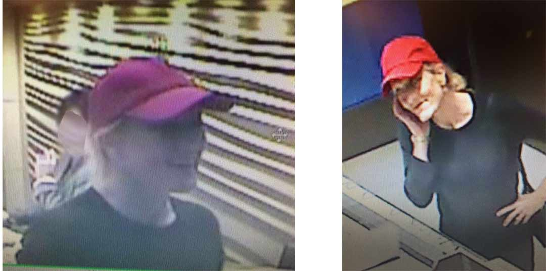 Woman in theft case sought