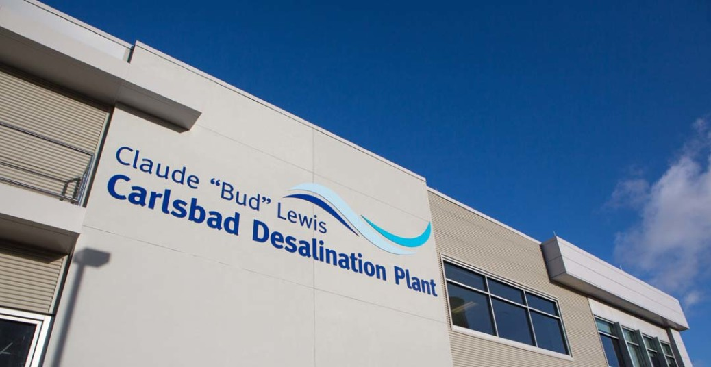 The San Diego County Water Authority and Carlsbad Municipal Water District reach an agreement to receive more desalinated water from the Carlsbad Desalination Plant.  Photo courtesy Poseidon Water