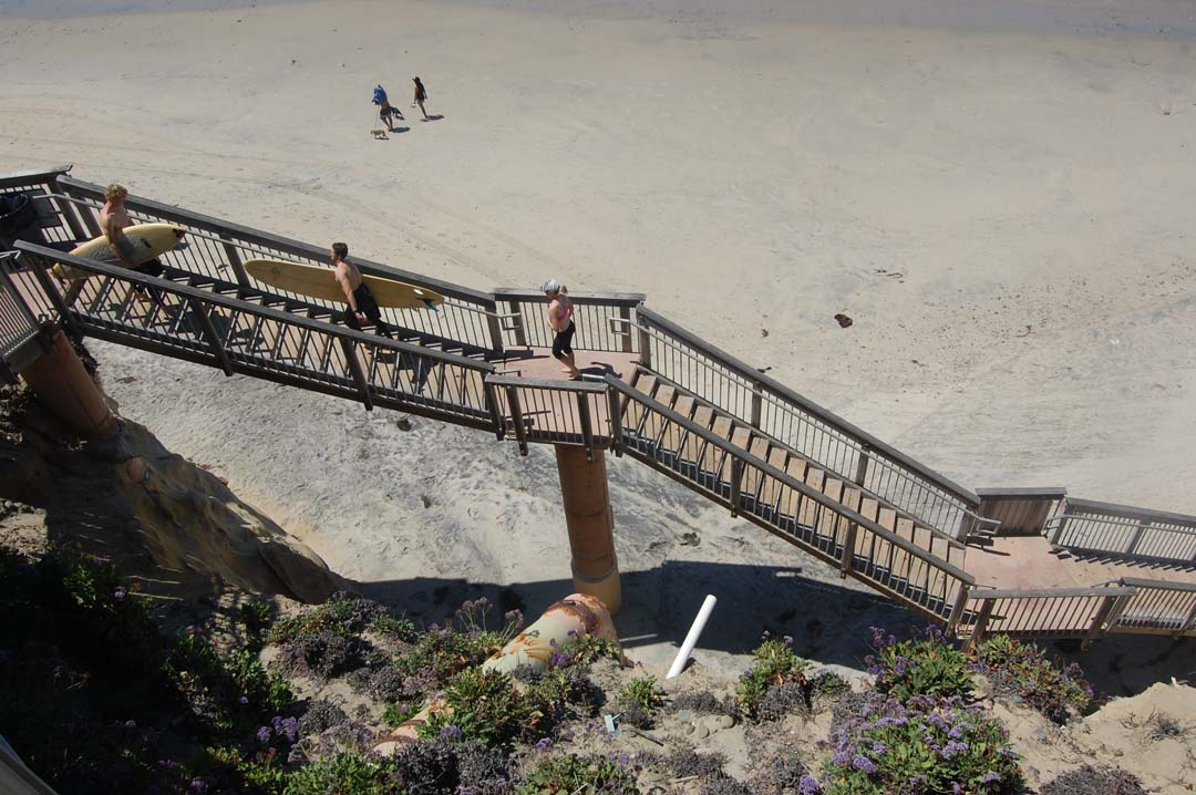 Maintenance planned for Seascape Sur stairs