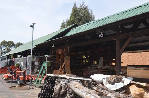Timber frame structure could come down at Palomar College
