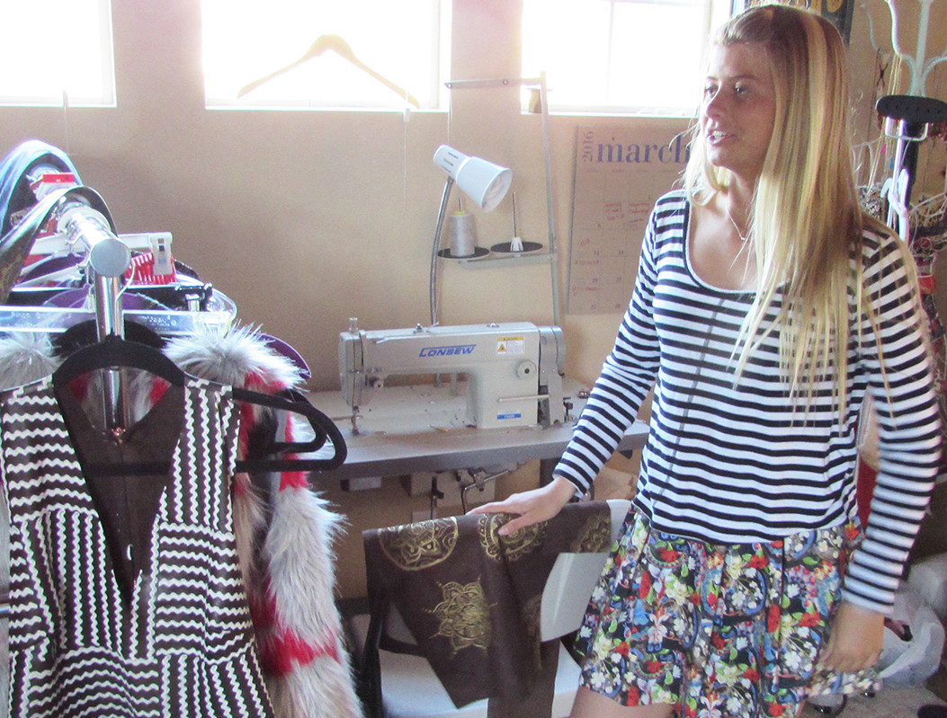 Carlsbad teen 'sewing' the seeds of fashion