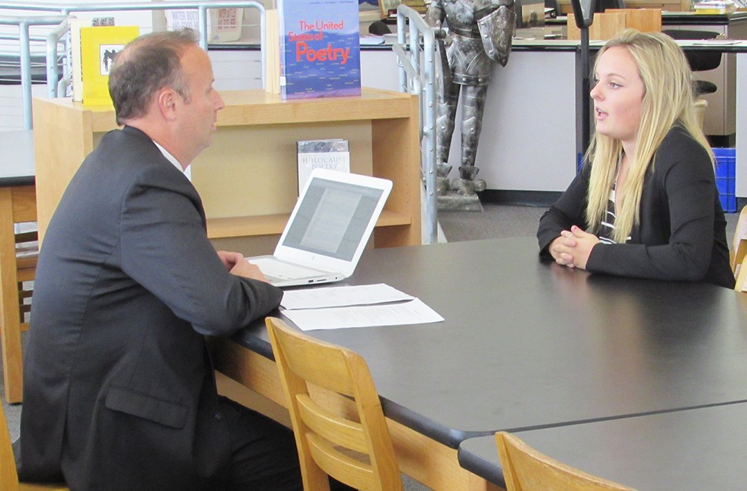 Carlsbad High holds mock interviews for students