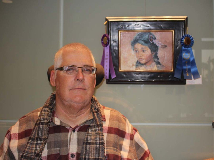 Paralyzed Veterans of America art show on display at City Hall