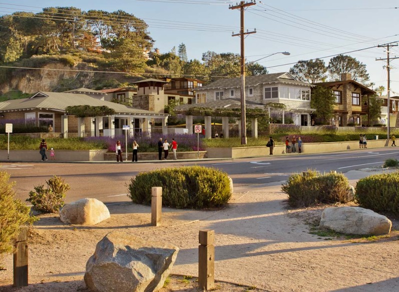 Residents may decide the fate of Watermark Del Mar, a 48-unit multifamily complex slated for the corner of Jimmy Durante Boulevard and San Dieguito Drive, after a group opposed to the size of the project submitted petitions with more than enough signatures to qualify for a ballot measure in the November election.  Courtesy rendering