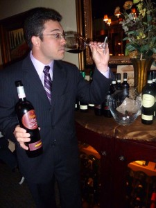 Ste'fano Poggi of Beni Di Batasiolo, a maker of Barolo wines from the Piedmont district of Italy. Photo by Frank Mangio