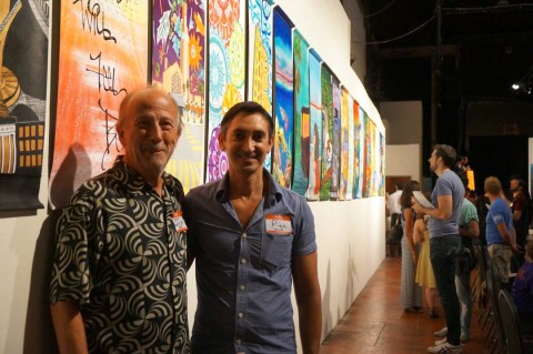 Encinitas arts banner event inspires Nor Cal city