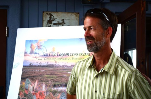 Gibson recognized by regional officials for conservancy service