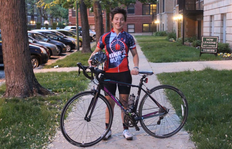 Jesse Newman, 21, plans to ride across the country in support of Bike & Build. Newman will start in Maine and end the journey in California. Photo courtesy of Jesse Newman