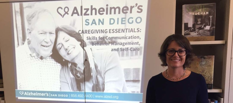 Alzheimer's San Diego visits RSF Library