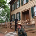 """Rosie the Ranger"" tells visitors about the Lincoln home, where he and his family lived from 1844 until they left for the White House in February 1861. Lincoln was exceptionally proud of this home because he had come from such humble beginnings."
