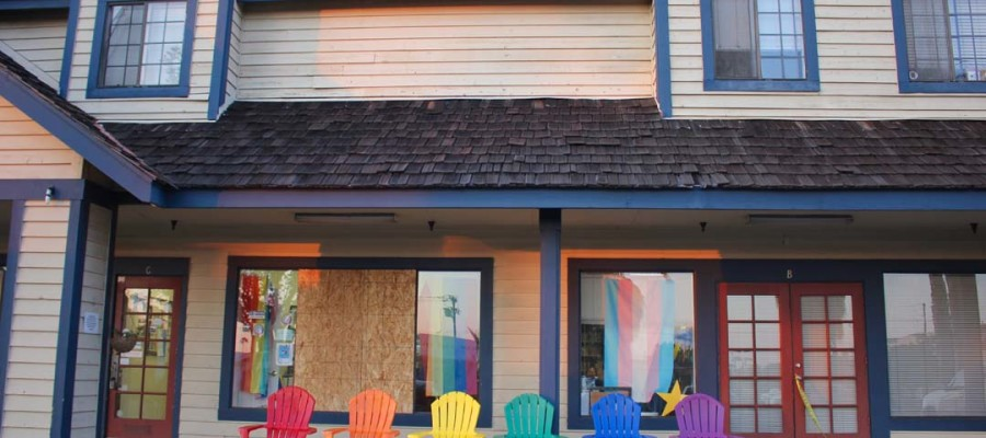 Hate crime aimed at LGBT Resource Center