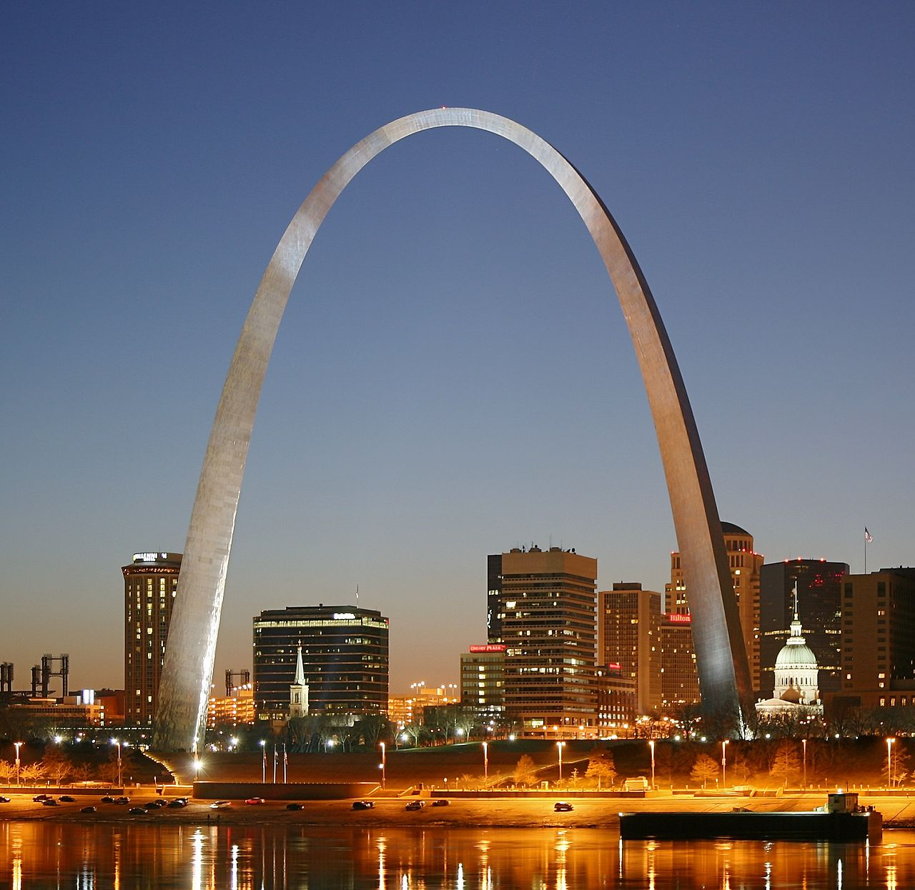St. Louis Gateway Arch, a magnanimous feat of engineering and construction