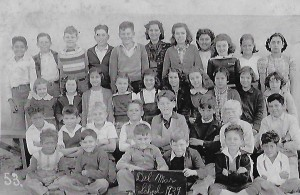 Students from the Del Mar School pose for their photo in 1939. Courtesy photo