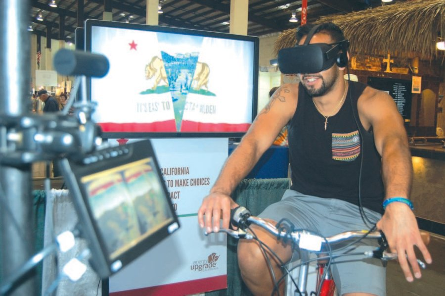 Environmentalism soars to new heights at fair exhibit