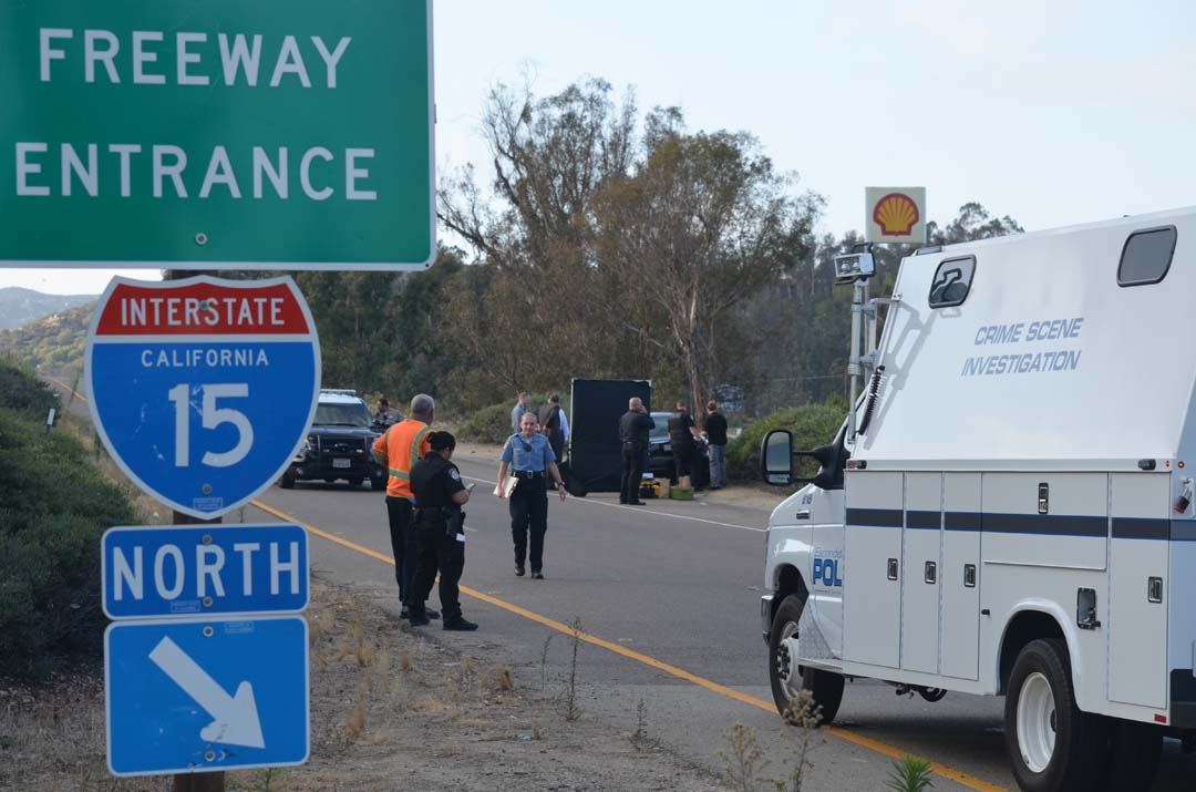 Updated: Authorities ID woman found dead on Escondido onramp